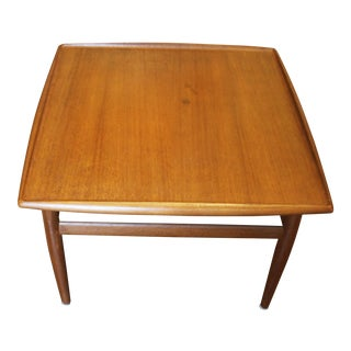 Mid 20th Century Grete Juel Jalk Mid Century Side Table For Sale