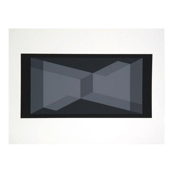 Artist: Josef Albers Portfolio: Formulation: Articulation (Double Portfolio) Title: Portfolio 1, Folder 9, Image 2 Year:...