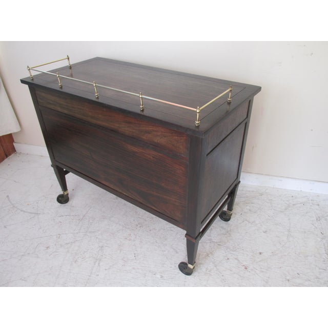 Drexel Mid-Century Serving Cart - Image 5 of 10