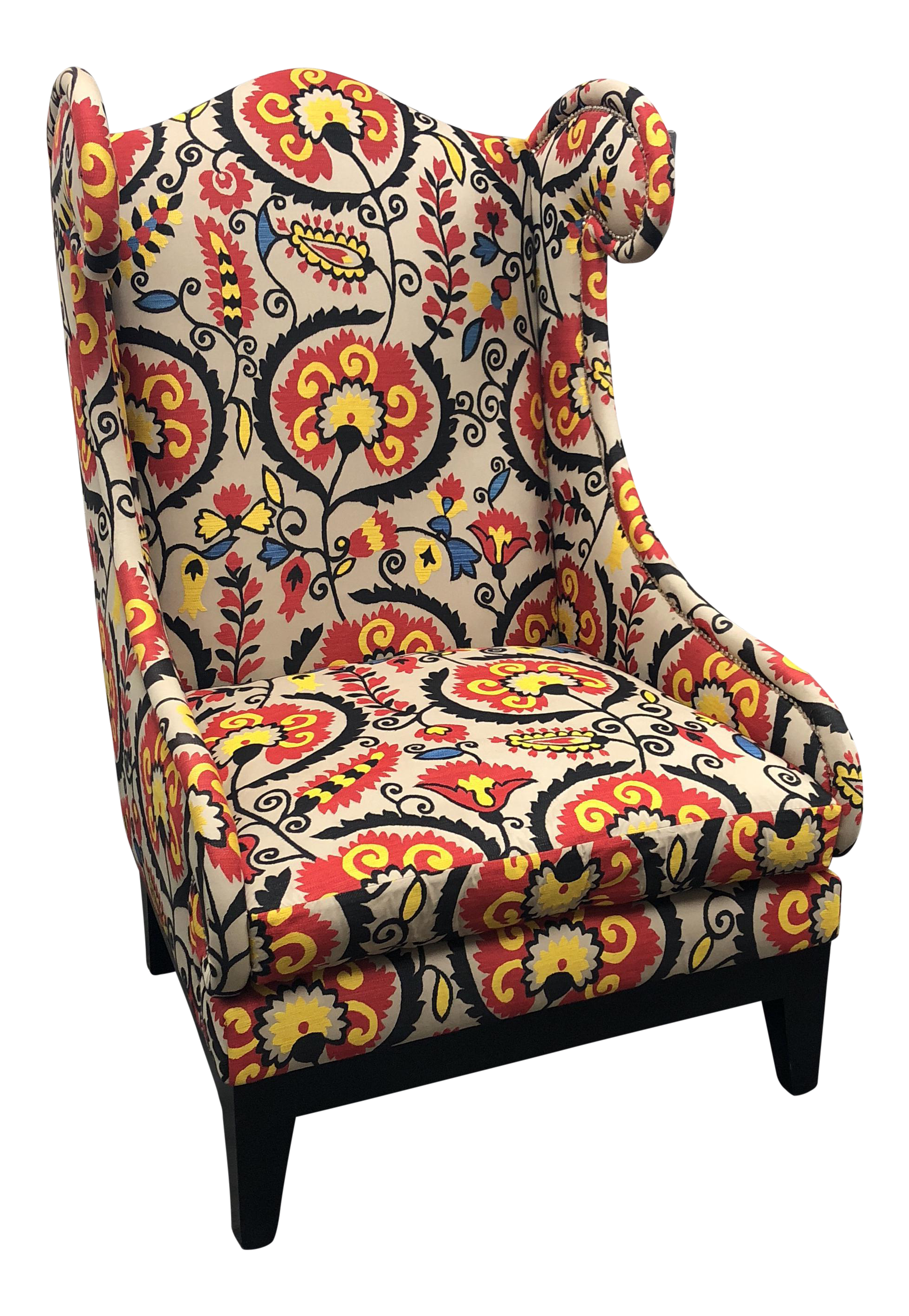 Andrew Martin Siene Arm Chair - Image 1 of 9  sc 1 st  Chairish & Andrew Martin Siene Arm Chair | Chairish