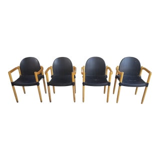 Strax Stacking Chairs by Hartmut Lohmeyer - Set of 4 For Sale