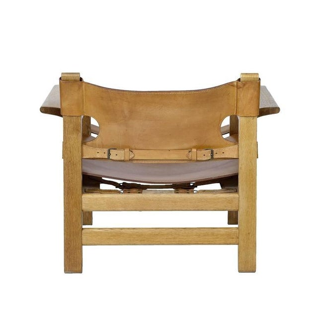 """Børge Mogensen """"Spanish"""" Chair For Sale In Los Angeles - Image 6 of 10"""