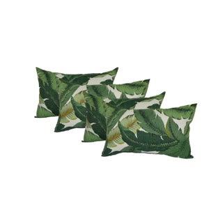 Swaying Palms Rectangle Lumbar Pillows - Set of 4
