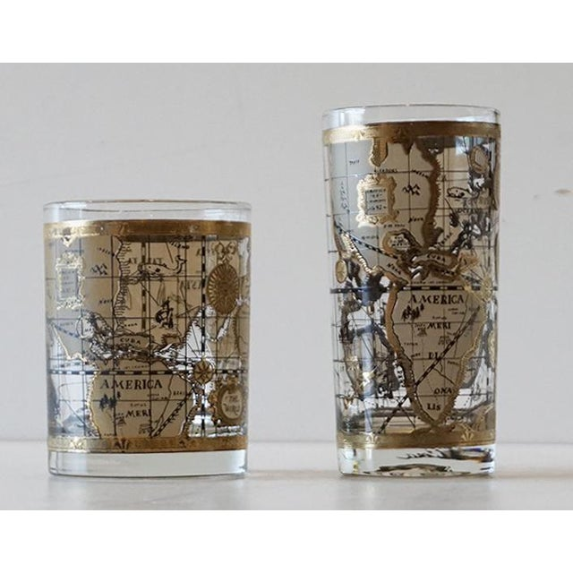 Cera old world map glasses set of 16 chairish cera old world map glasses set of 16 image 6 of 7 gumiabroncs Image collections