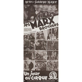 At the Circus R1960s French Insert Film Poster For Sale