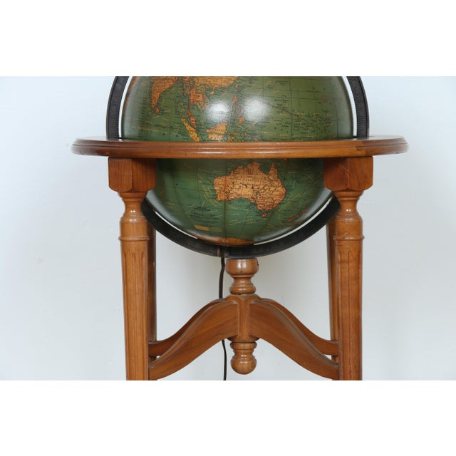 1940's Globe and Stand - Image 4 of 7