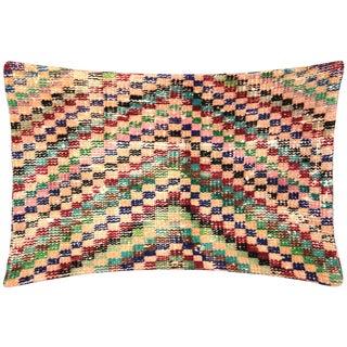 """Nalbandian - Turkish Art Deco Lumbar Pillow - 16"""" X 23"""" For Sale"""