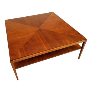 Baker Furniture Square Coffee Table For Sale