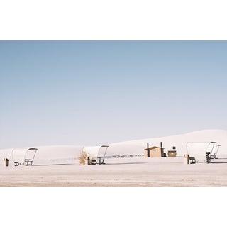 White Sands Landscape Original Framed Photograph For Sale