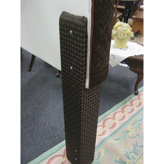 Custom Upholstered Full Size Headboards - Pair - Image 6 of 9