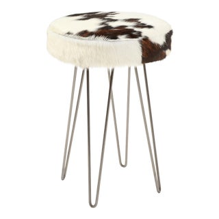 Tri-Color Cloud Hairpin Counter Stool For Sale