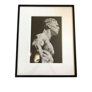 """1980s Original George Mott Numbered Photograph Used for the Book """"Foro Italico"""", Framed For Sale"""