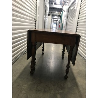 Vintage Country Style Drop-Leaf Dining Table Preview