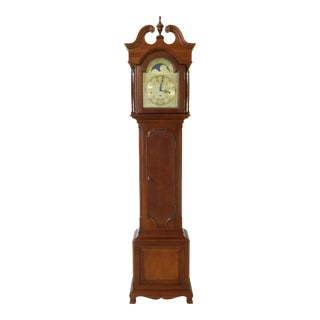 Ridgeway Mahogany Cased Grandfather Clock For Sale