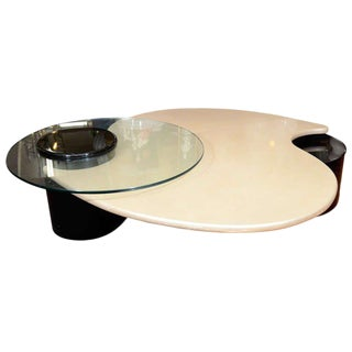 UNUSUAL ABSTRACT FORM COFFEE TABLE BY ROUGIER For Sale