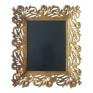 Vintage Gold Plated Photo Frame