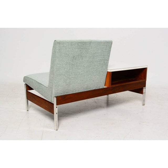 Mid-Century Seat & Table - Image 5 of 10