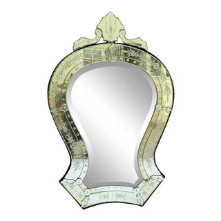 1950's Italian Wall Mirror For Sale