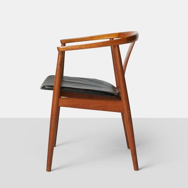Danish Modern Tove & Edvard Kindt-Larsen Guest Chair For Sale - Image 3 of 8