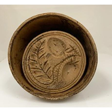 Early American Collection of 4 Antique Butter Molds For Sale - Image 3 of 10