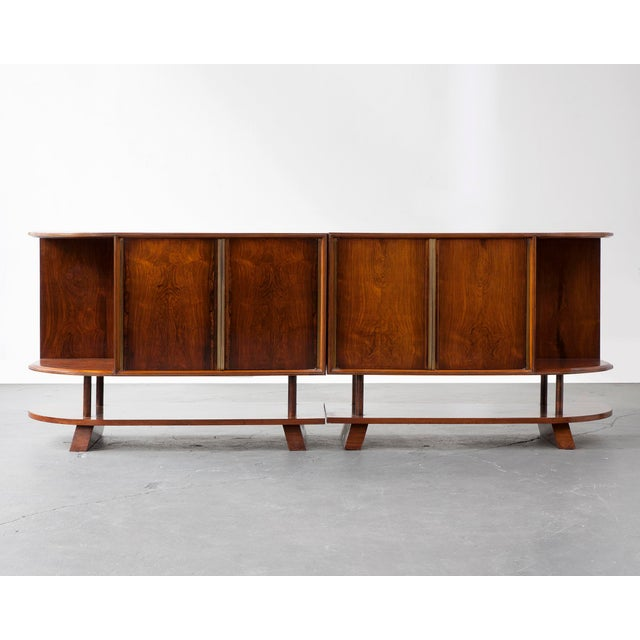 Two-piece credenza For Sale In New York - Image 6 of 8