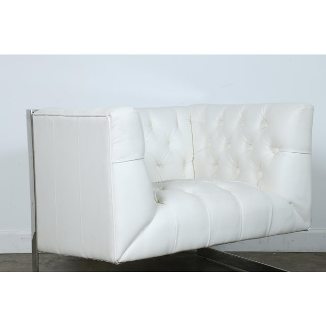 Modern Chesterfield Tufted Chair - Image 6 of 11