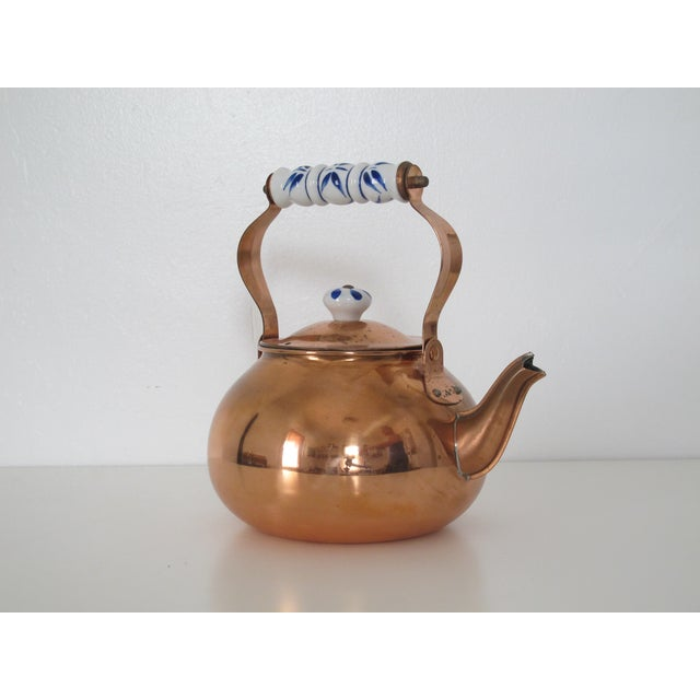 Traditional Copper Teapot - Image 3 of 4