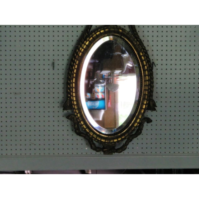 Antique 19thC Giltwood Mirror For Sale - Image 4 of 8