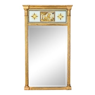English Regency Pier Mirror, Circa 1810 For Sale