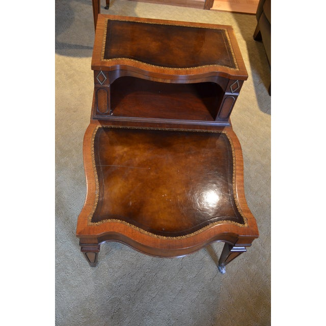 Traditional Weiman Heirloom Quality End Table For Sale - Image 3 of 5