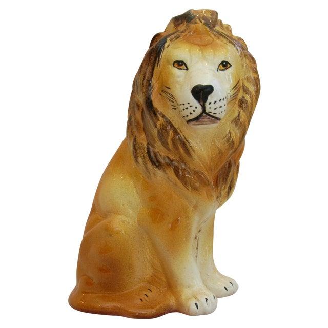 Mid-Century Italian Safari Lion - Image 1 of 8