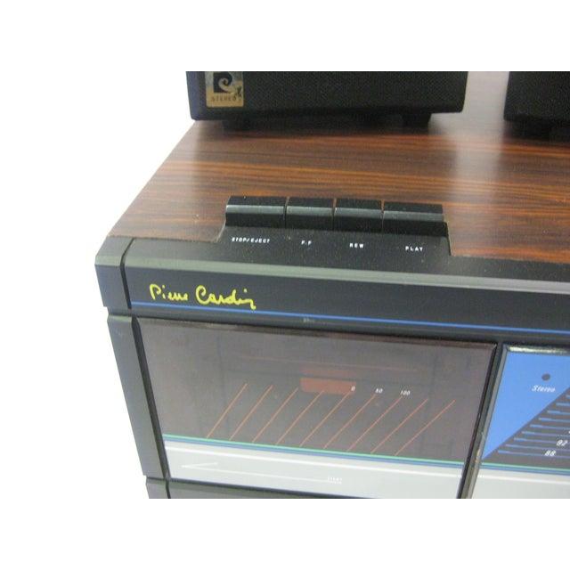 Pierre Cardin AM/FM/Cassette Stereo by Pierre Cardin For Sale - Image 4 of 5