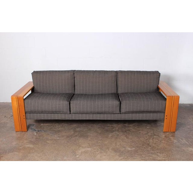 Wood Artona Sofa by Afra and Tobias Scarpa For Sale - Image 7 of 10