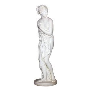 "Classical 19th Century Marble Statue ""Venus Italica"" For Sale"