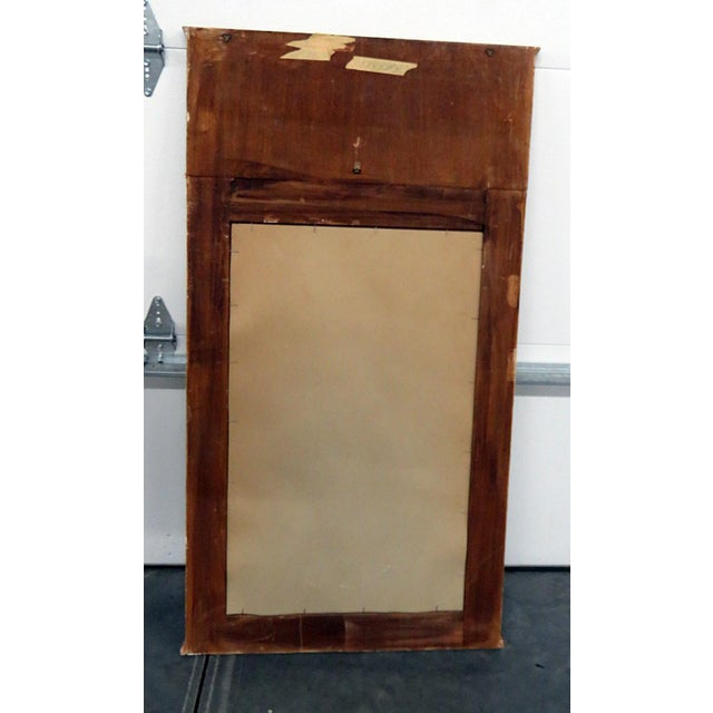 Neoclassical Style Paint Decorated Console & Mirror For Sale - Image 12 of 13
