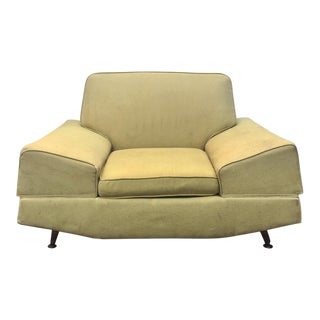 Mid-Century Modern Sculptural Lounge Chair For Sale