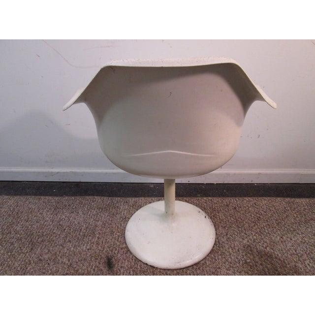 Mid Century Modern Eero Saarinen Tulip Base Chair - Image 5 of 11