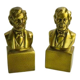 Abraham Lincoln Bookends For Sale
