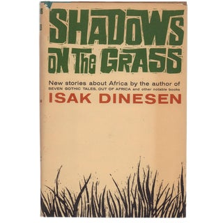 "1961 ""First Edition, Shadows on the Grass"" Collectible Book For Sale"