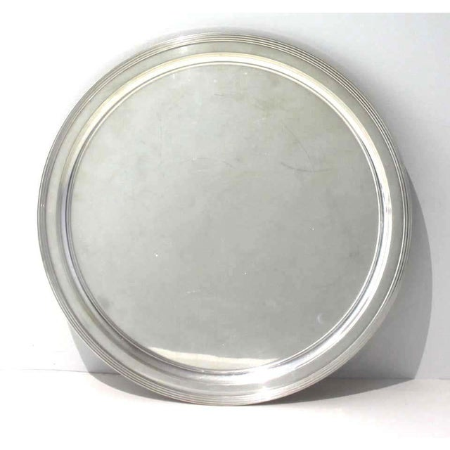 Mid-Century Modern Tiffany & Co Sterling Silver Tray For Sale - Image 10 of 10
