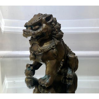 Antique 19c Japanese Bronze Foo Dog Preview