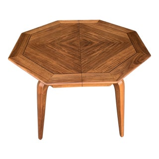 Mid Century Modern Expandable Dining Table by Maurice Bailey For Sale