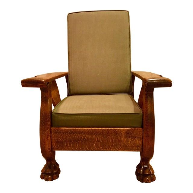 Antique Oak Morris Chair - Antique Oak Morris Chair Chairish
