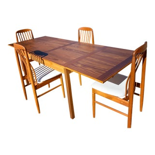 Vintage Benny Linden Teak Dining Set- 5 Pieces For Sale