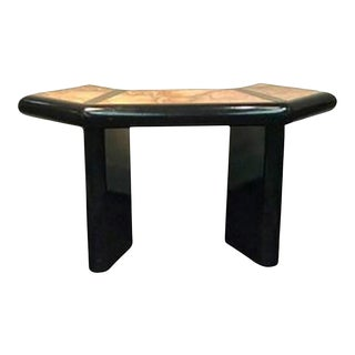 Italian Marble Top Console Table in the Manner of Alessandro Albrizzi For Sale
