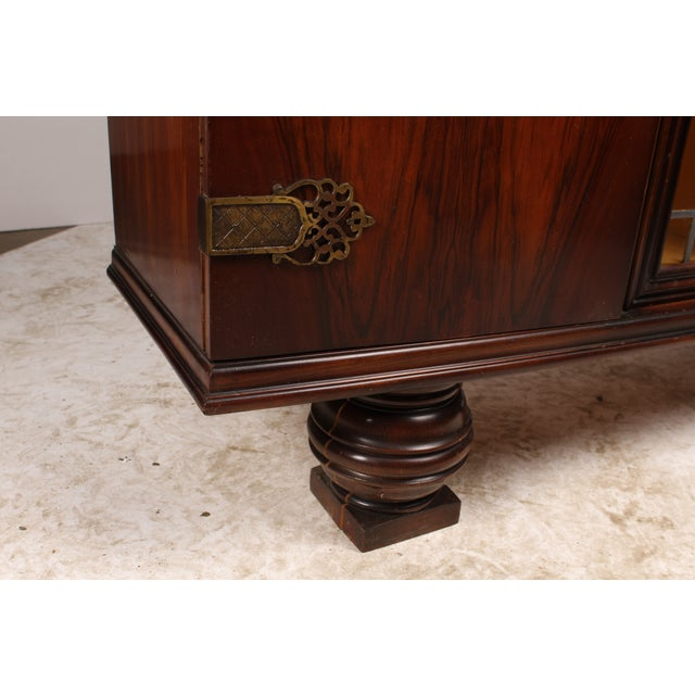 1930s French Deco Vitrine Cabinet - Image 7 of 7