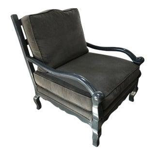 Bausman Gray Knuckle Chair For Sale
