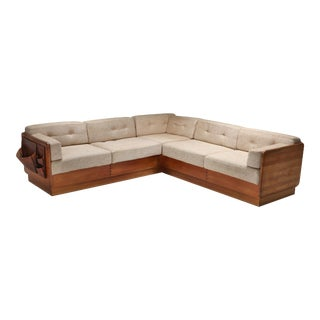 Mid-Century Modern Sectional Couch by Mikael Laursen For Sale