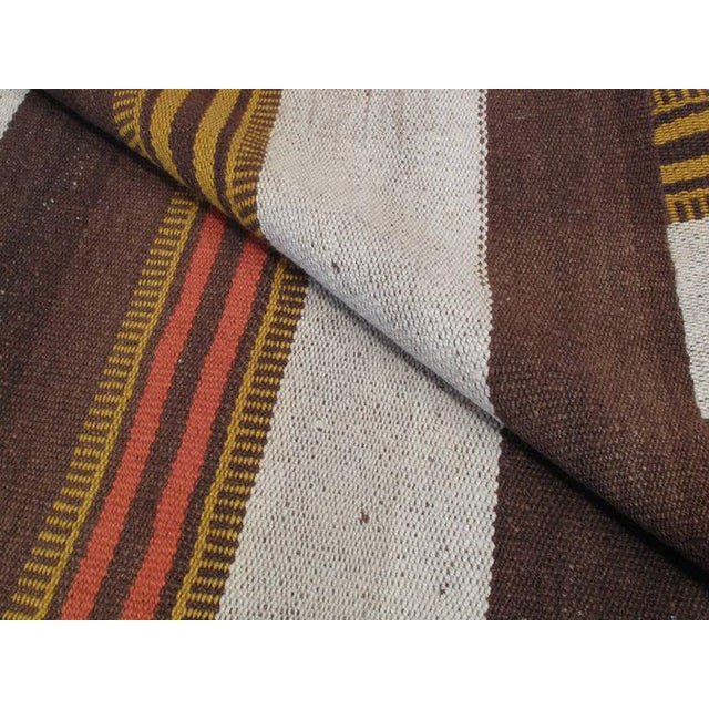 Textile Urfa Kilim Rug For Sale - Image 7 of 7