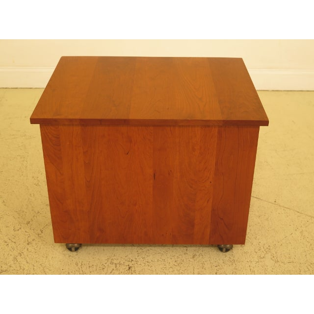 Stickley Mission Arts & Crafts Style Cherry File Cabinet For Sale - Image 10 of 13